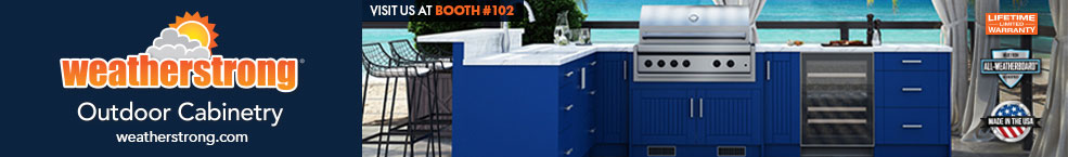 Weather Strong Outdoor Cabinetry